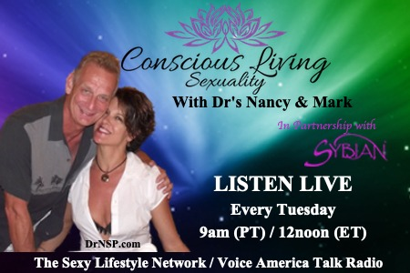 Conscious Living Sexuality with Dr. Nancy and her husband, Dr. Mark