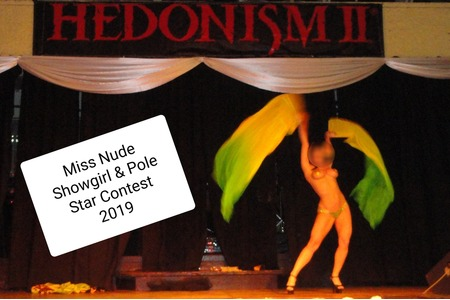 The Sexy Lifestyle broadcast live from Hedonism II Resort During Miss Nude Showgirl and Pole Star Contest 2019