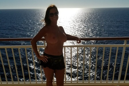 Carol Topless on the ship – Caribbean Dreams Cruise 2017