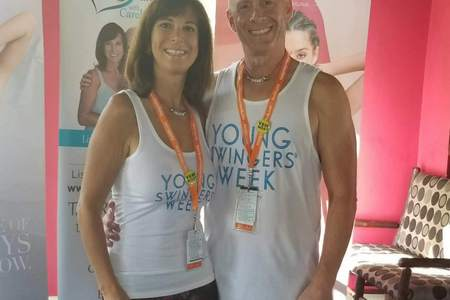 Carol and David Host couple for Young Swingers week