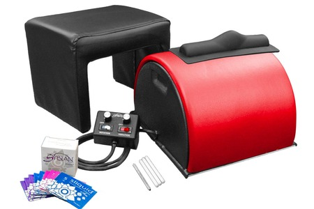 Sybian Blushing Red Package