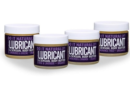 Southern Butter Do It Naturally Organic Lubricant